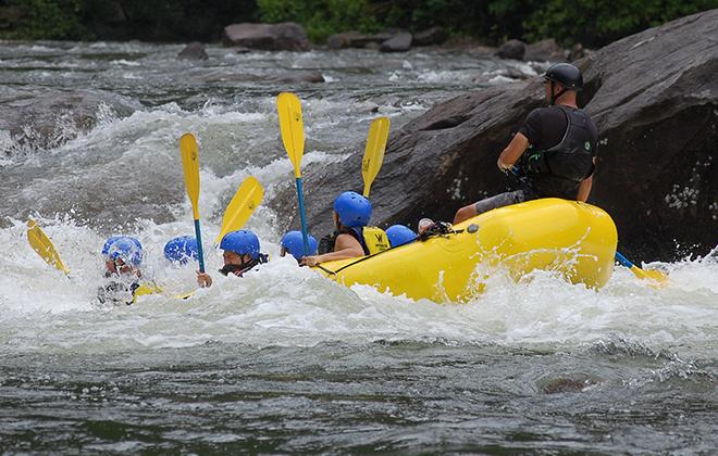 Rafting em Antonina