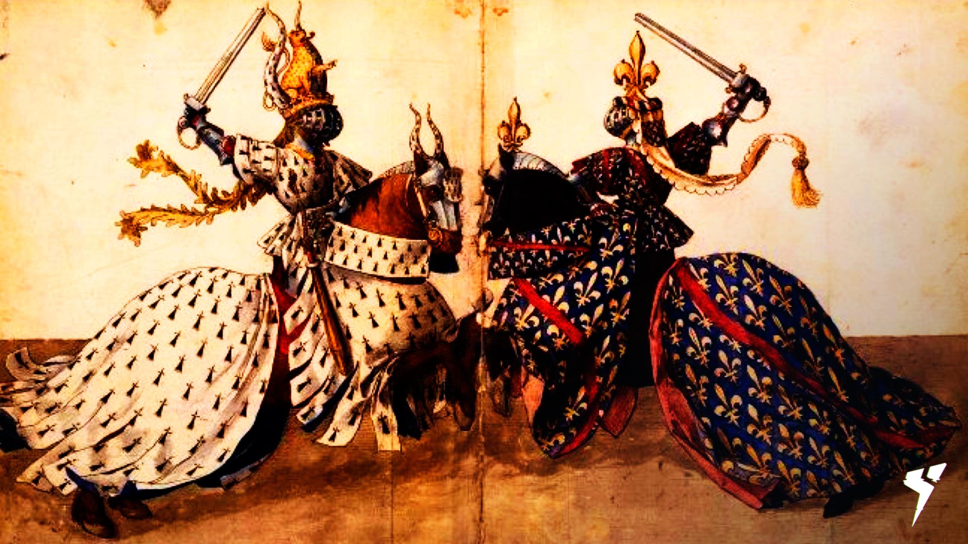 historia-do-esporte-combate-medieval-com-uma-imagem-antiga