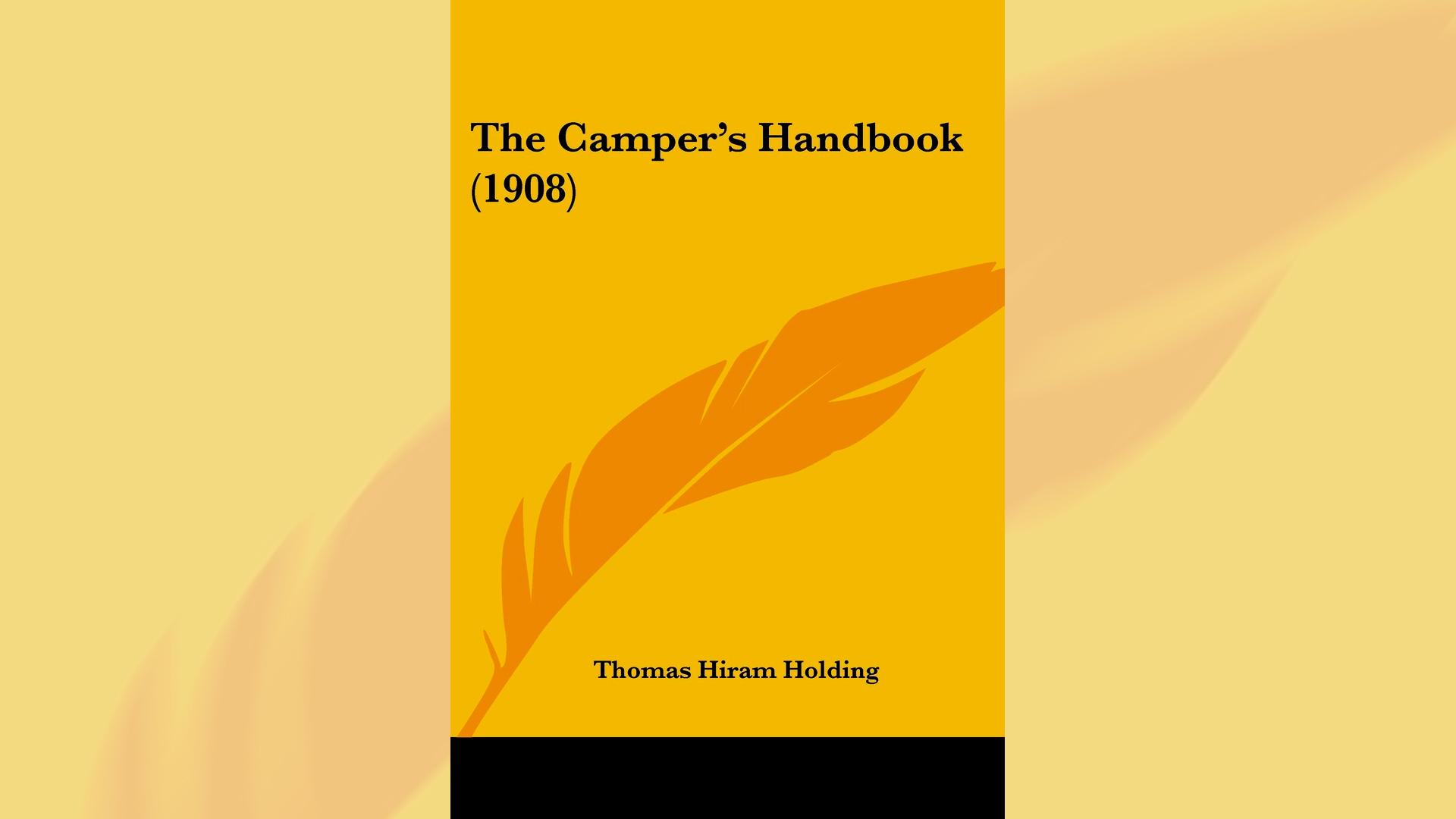 Imagem da capa do livro The Camper's Handbook, do Autor Thomas Hiram Holding